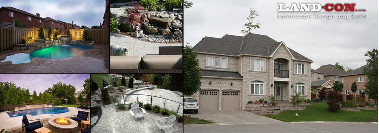 Landscaping in Oakville