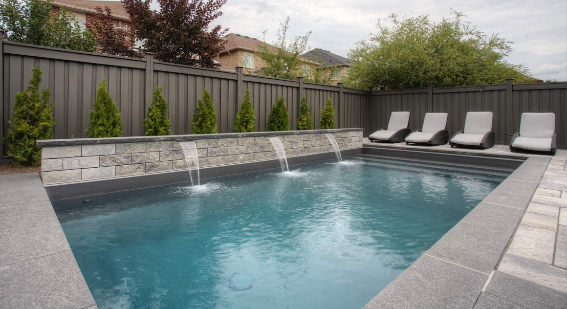 Swimming pool design and building in toronto view our for Pool plans online