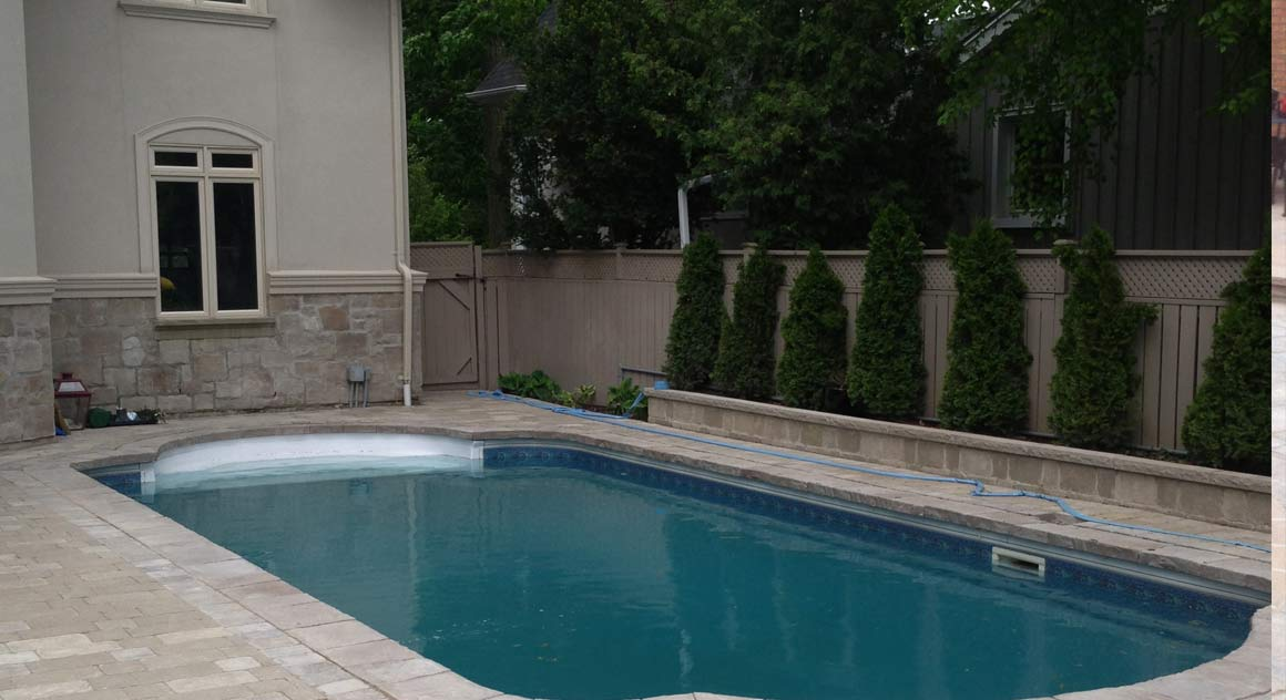 Swimming pool design and building in toronto view our for Domestic swimming pool design