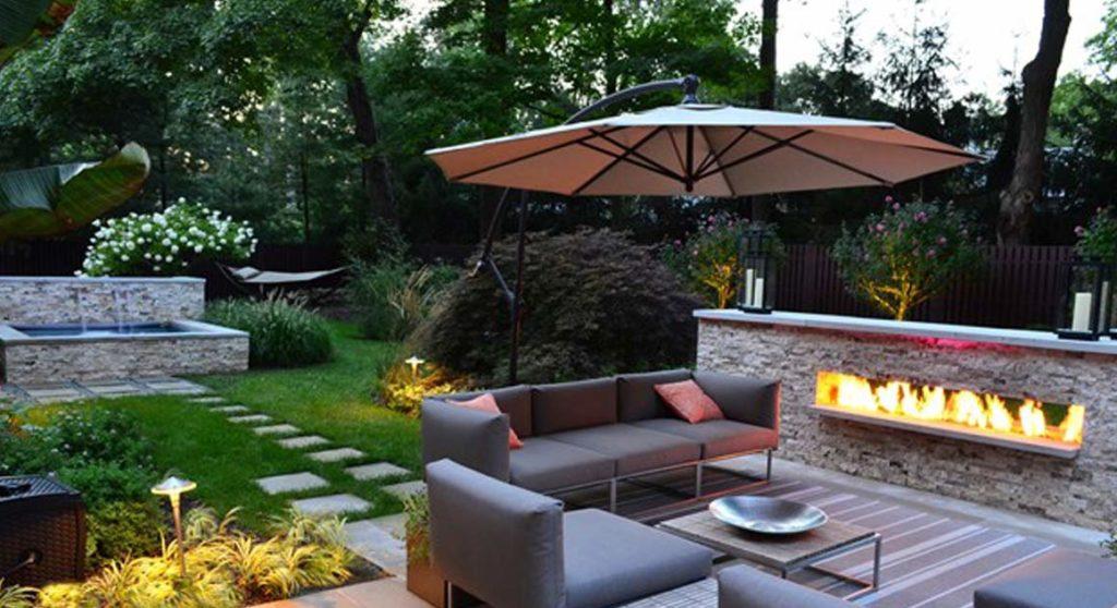 Backyard Landscaping Backyard Landscape Design Toronto Land Con