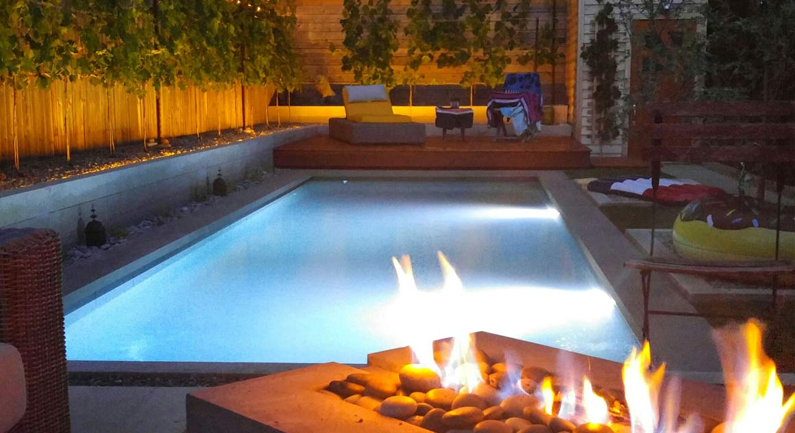 Backyard Designs for Hot Tubs