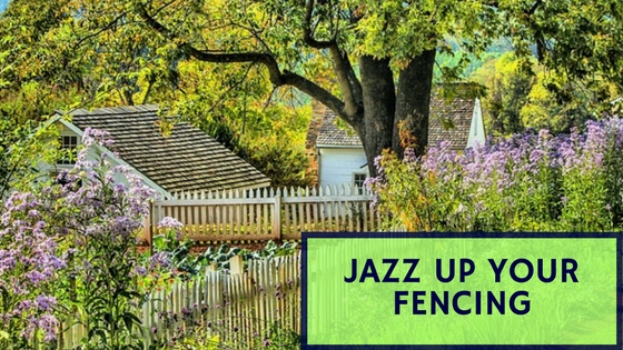 Jazz up your Fencing