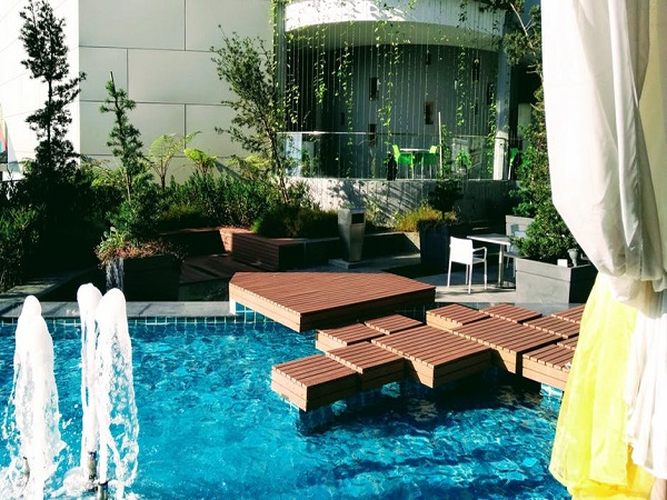 Pool with Deck