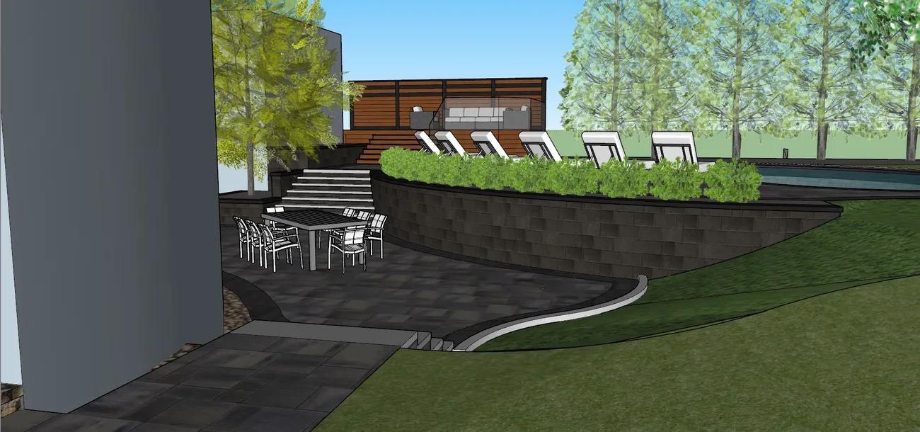 80_s Modern Villa_ Design Work_6