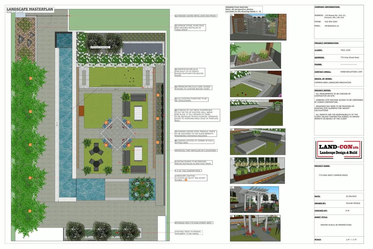 Minto King West_Landscape Design Work_2