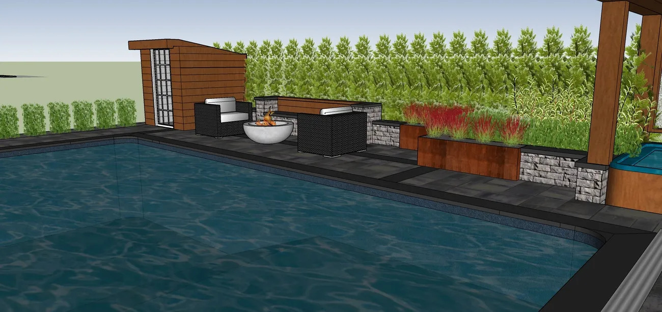 Textured Elegance - Landscape Design Work_3