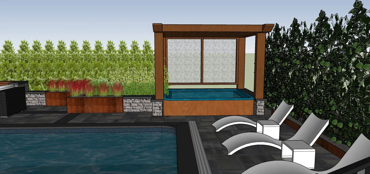 Textured Elegance - Landscape Design Work_5