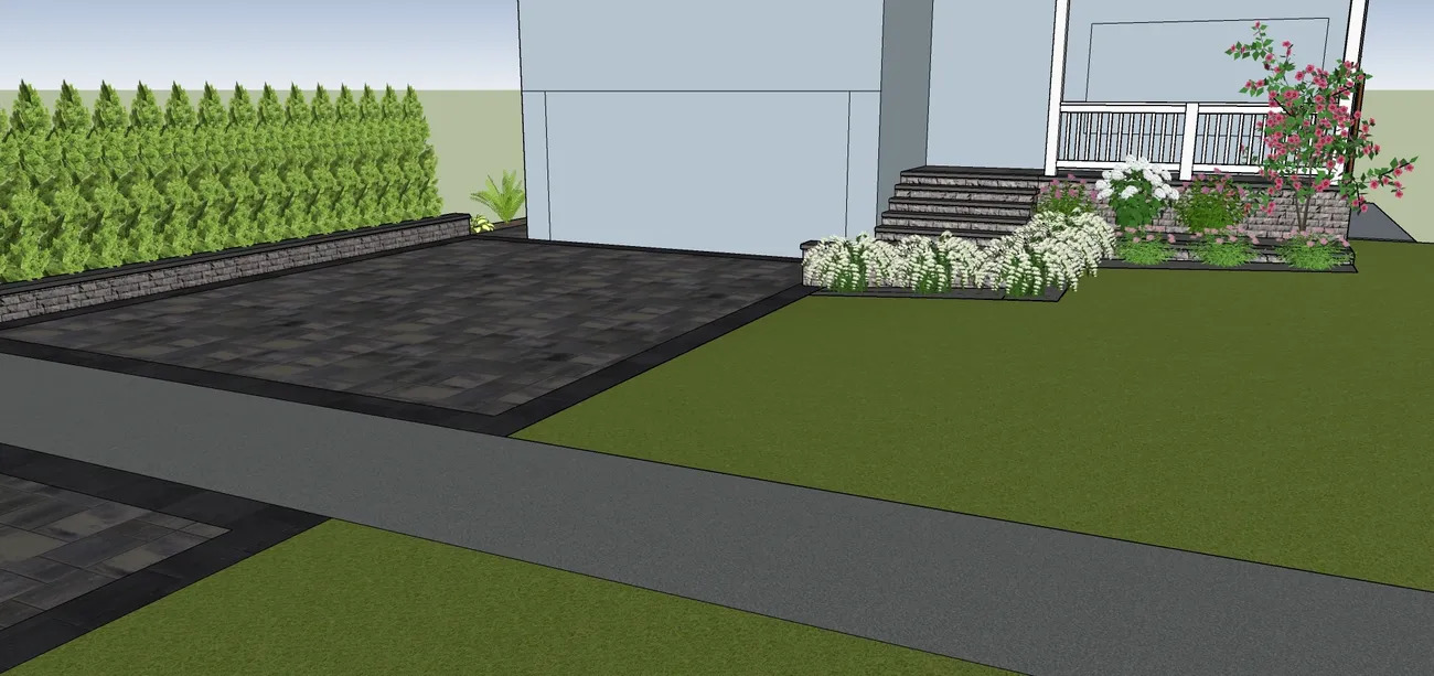 Textured Elegance - Landscape Design Work_6