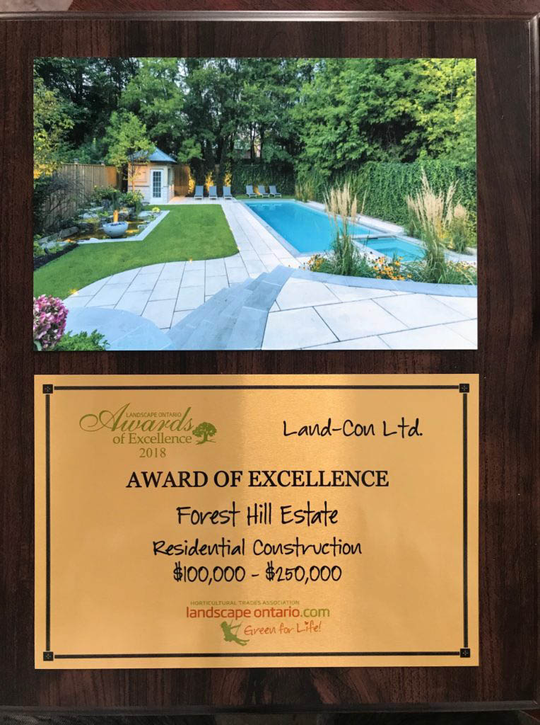 Award of Excellence - Forest Hill Real Estate