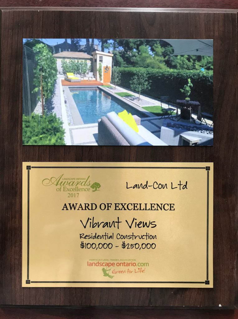 Award of Excellence - Vilrant Views